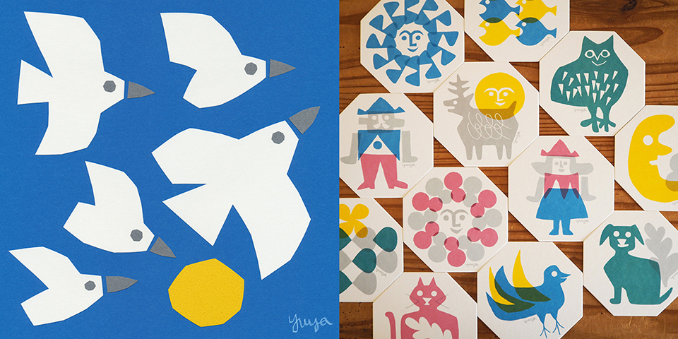 Atelier FOLK|東京・中野|切り絵作家YUYAと食のアトリエ・スパロウの拠点アトリエ・フォーク